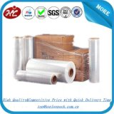 Enveloppe en plastique de palette de film d'extension de bâti transparent