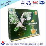 Bolsas de papel de encargo de moda de la maneta de las compras del precio de fábrica de la alta calidad