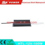 bloc d'alimentation imperméable à l'eau de l'interpréteur de commandes interactif en aluminium continuel DEL de la tension 12V-100W