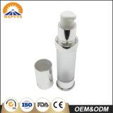 Contenitore senz'aria sottile glassato della bottiglia per cura personale