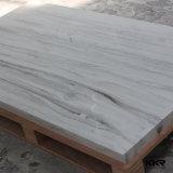 Feuilles extérieures solides de veinage de sembler de marbre de configuration de qualité