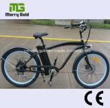 Bici eléctrica del motor del crucero 250W de la playa de los hombres