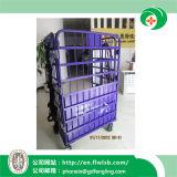 Складывая контейнер снабжения металла для перевозки вручную