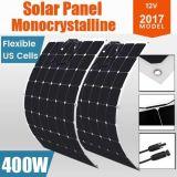 фотоэлемент силы Sun панели солнечных батарей 400W 12V гибкий