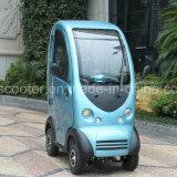 """O """"trotinette"""" cobriu o """"trotinette"""" incapacitado da mobilidade da cabine da cadeira de rodas da potência do """"trotinette"""" Ce elétrico"""