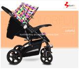 Einfacher faltender Baby-Spaziergänger-Buggy 3 in 1