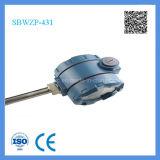 Émetteur Integrated de la température de Sbwzp de théorie de RDT d'écran LCD de Changhaï Feilong avec la tête anti-déflagrante