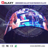 Muestra publicitaria curvada a todo color P2.98/P3.91/P4.81/P5.95 de la galaxia LED Screen/LED Display/LED Advertizing/LED