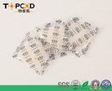 10g de gel de sílica desidratante de absorção de humidade indicada livre de DMF