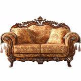 Sofà classico del tessuto con i Governi per la mobilia del salone (D929)
