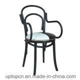 고대 작풍 방석 (SP-MC069)를 가진 유행 금속 커피 의자