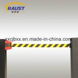 소성 물질 벽 마운트 철회 가능한 벨트 방벽