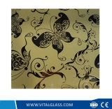 стекло искусствоа краски 4-6mm Coated с серебром