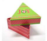 Caja de embalaje modificada para requisitos particulares del regalo del papel de la Triángulo-Dimensión de una variable