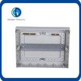 Caixa de distribuição elétrica plástica montada superfície de MCB Tsm