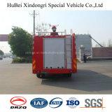 8ton Dongfeng 물과 거품 탱크 유형 화재 싸움 엔진 트럭 유로 4