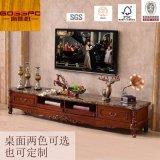 Module du stand du luxe TV en bois solide de noix/TV (GSP13-008)