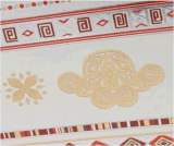 Etiqueta engomada temporal impermeable metálica del tatuaje del elefante del pájaro