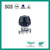 Válvula de diafragma neumática sanitaria Wh552