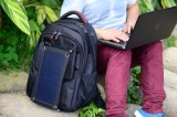 Hoher Quliaty wasserdichter Solararbeitsweg-Laptop-Rucksack