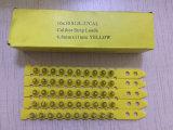 La couleur jaune. 27 chargement en plastique de pouvoir de bande de chargement de calibre du calibre S1jl