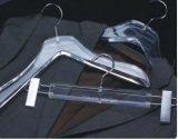Estilo material acrílico do gancho de revestimento do indicador, gancho de roupa luxuoso