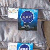 Preiswerte Pinsel-Baumwolle mit den normalen gefärbten besten Kissen BRITISCH