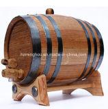 Tambor de vinho de madeira para o tambor dourado do carvalho do vinho