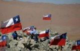 Su ordinazione impermeabilizzare e modello no. della bandiera nazionale del Cile della bandierina di Sunproofnational: NF-021