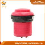 Commutateur de bouton poussoir électrique de 33.4mm Pbs-009 rouge