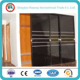 Vidrio pintado negro de calidad superior / cristal de la hornada de China