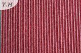 Sofá del Chenille de la raya o tapicería llano de la cortina (FTH31925)