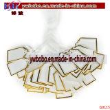 Kleid-Kennsatz-Preis-Karte versieht Kleidungs-Geschenk-Aufkleber-Namensmarke mit warnschild (G8116)
