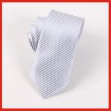 Legame diretto per gli uomini, cravatta grigia del poliestere della fabbrica di alta qualità
