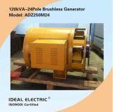 Geradores 200Hz 120 kVA-24pole Singel-Phase sem escovas (alternadores)