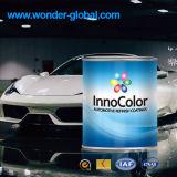 Белое покрытие тела автомобиля