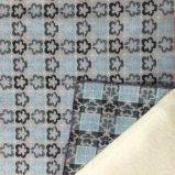 Existencias de la tela de las lanas del telar jacquar del estilo del flor del ciruelo