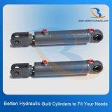 10t diseño del cilindro hidráulico de ~500 toneladas basado en el requisito de Cystomer