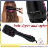 Щетка 2 нового прибытия просто и полезная фена для волос в 1 щетке раскручивателя фена для волос и фена для волос сбываний Styler электрической горячей