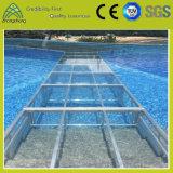 случая представления прозрачного СИД 4FT*4FT этап напольного стеклянный акриловый для плавательного бассеина (004)