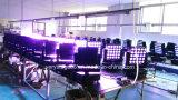 Luz principal móvil de la viga del panel de la matriz del LED 5*5 25pcsx10W