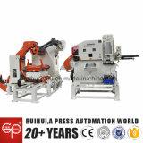 Alimentador automático com Decoiler e Straightener que usa-se na máquina da imprensa