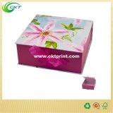 실크 리본 (CKT-CB-862)를 가진 주문 엄밀한 선물 상자