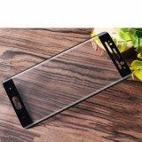 Huaweiのための卸売によって四捨五入される端の完全なカバー着色された前部熱の曲がる絹の印刷の緩和されたガラスフィルム