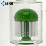 새로운 디자인 작은 벌집 (AY 004)를 가진 유리제 수관 연기가 나는 관