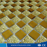 Mattonelle di mosaico di vetro di colore di cristallo