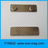 Нагрудная планка с фамилией участника многоразового металла магнитная