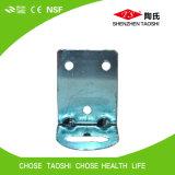 Corchete colgante del cárter del filtro de agua del metal blanco
