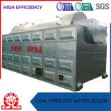 Grande chaudière à eau chaude de grille de chaîne de four