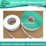 SGS (LS-108)를 가진 아기 기저귀를 위한 짠것이 아닌 훅 측 테이프